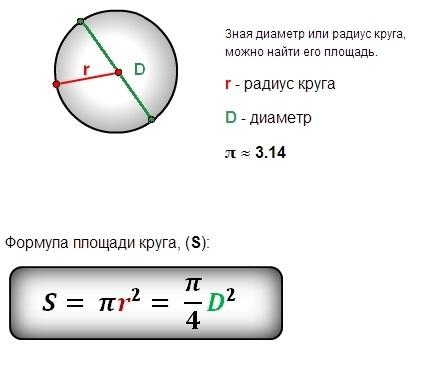 этой как вычислить массу тела зная диаметр и толщина полный рабочий